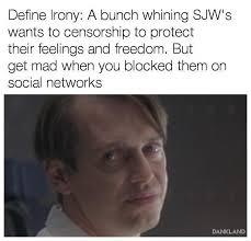 Define Meme - define irony safe space know your meme