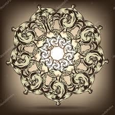 Beautiful Decoration Element Mandala Beautiful Vintage Round Pattern Hand Drawn Abstract