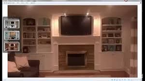 Fireplace Surround Bookshelves Fireplace Surround Part 1 Design Youtube