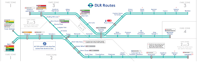 England Train Map by Docklands Light Railway Map Docklands Light Railway London Map