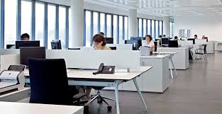 bureaux open space bureau pour open space en aluminium en stratifié