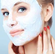 Yogurt Untuk Masker Wajah wajah berkilau dengan masker yogurt