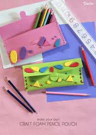diy pencil case tutorial for back to darice