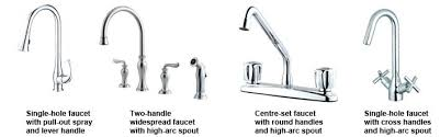 faucet types kitchen charming types of faucet kitchen faucet types more image ideas