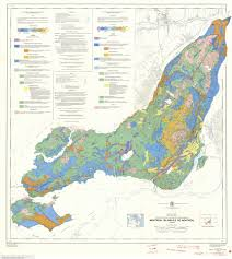 Montreal Canada Map Map Du Jour Surficial Geology Montreal Island 1975 3 Mb Jpg
