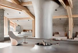 Super Modern House Design Contemporary Chalet In French Alps - French modern interior design