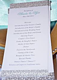 wedding reception programs abisola ajiri s wedding in dublin california sf bay area