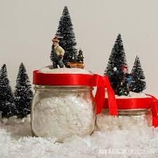 Diy Mason Jar Crafts For Christmas by 43 Mason Jar Christmas Crafts Fun Diy Holiday Craft Projects