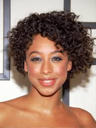 short curly hair cuts round face short curly celebrity hairstyle