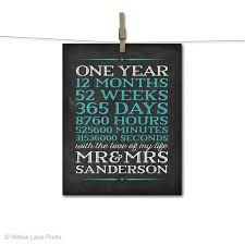 one year anniversary ideas one year anniversary gift ideas for him paper lading for