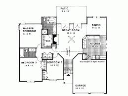 1500 square floor plans eplans ranch house plan traditional style ranch home 1500