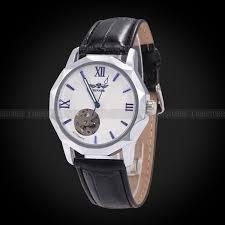 watch winner automatic mechanical men u0027s skeleton leather wrist