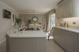 In Frame Kitchen Cabinets Painted Kitchen U2013 In Frame Stone And Almond U2013 Panorama Kitchens