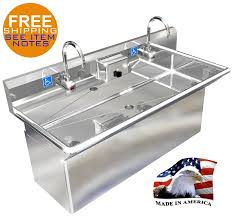 Kitchen Faucets Made In Usa Ada 2 Station 48