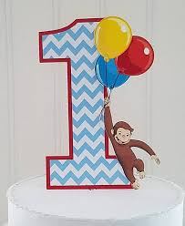 curious george cake topper curious monkey george smash cake topper curious george cake