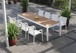 modern outdoor dining table amazing of modern patio dining set residence remodel concept