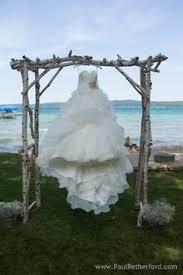wedding arches michigan wedding at the house on deer lake at boyne mountain resort