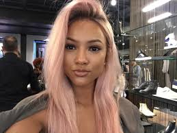 karrueche hair color karrueche tran shares fashion beauty tips for festival season