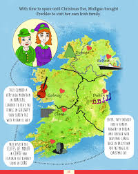 Dublin Ireland Map Freckles The Elf Christmas Magic In Ireland Map Evelyn Mc Marketing