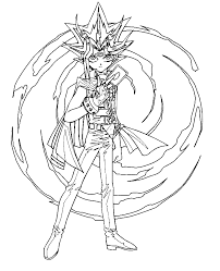 yu gi 999 coloring pages coloring