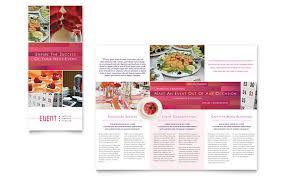 wedding u0026 event planning templates brochures flyers