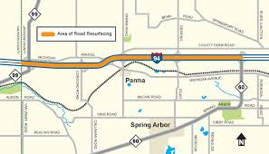 Jackson Michigan Map by Mdot Construction Begins Next Week On I 94 In Western Jackson County