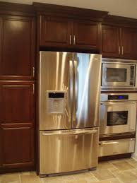 Double Wall Oven Cabinet Oven Above Warming Drawer Design Ideas