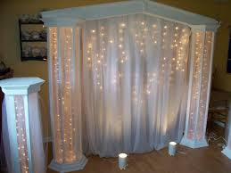 wedding arches and columns wedding columns jake s lighted wedding columns home