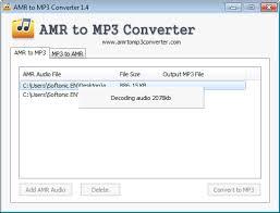 Mp3 Converter Amr To Mp3 Converter