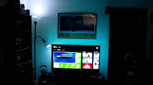 philips hue light strip behind tv philips hue led light strip color your world youtube