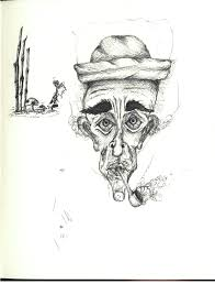 smoking mushrooms fairies u0026 bamboo sketch bw