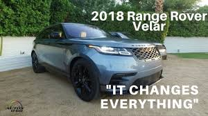 2018 range rover velar 1st look on the road and on the off road
