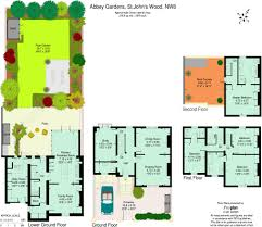Floor Plan Of Westminster Abbey 4 Bedroom House For Sale In Abbey Gardens London Nw8 Nw8