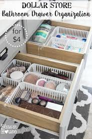 bathroom organization ideas dollar store bathroom drawer organization bathroom drawer