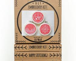 diy ornament kit etsy