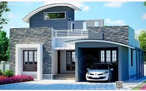 modern house styles for a different kerala house style my home pinterest