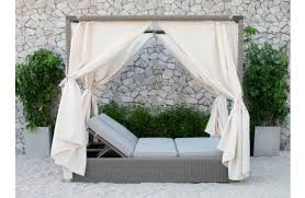 charlotte canopy outdoor daybed