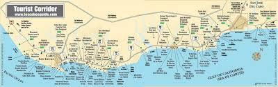 san jose cabo map hotels tourist corridor map cabo san lucas and san jose cabo