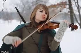 Blind Violinist Famous Violinist Taylor Davis Bullied At Becomes Music Sensation