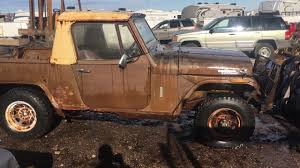 1970 jeep commando for sale 1970 jeep kaiser willys jeepster comando pickup truck rare 4x4 all