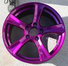 purple rims thread painting stock wheels black cars
