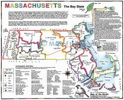 Map Of Cape Cod Massachusetts by Massachusetts Map Maps For The Classroom