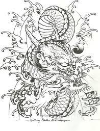 background tattoo stencil design chinese dragon tattoo designs