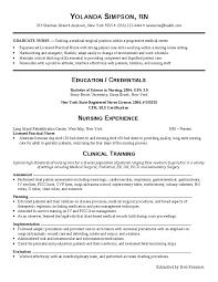 Sample Rn Resume by Help Nurse