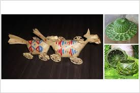 cara membuat kerajinan tangan dari janur 15 karya unik ini tercipta dari daun kelapa berani bikin