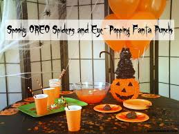 spooky oreo spiders and eye popping fanta punch i u0027d rather be