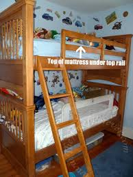 Bed Rail For Bunk Bed Buying Bunk Beds The Forever