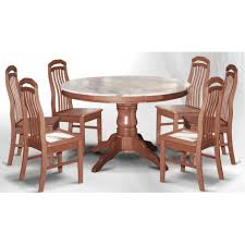 round marble dining table and chairs dn888 round marble dining table 3 5ft 6 stools marble seat top