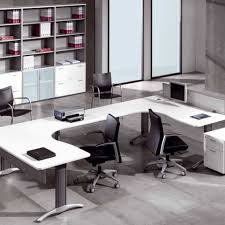 white office desk accessories great office arrangement with