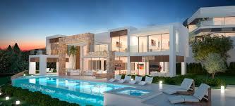 modern villa stunning design ideas modern villas marbella villas